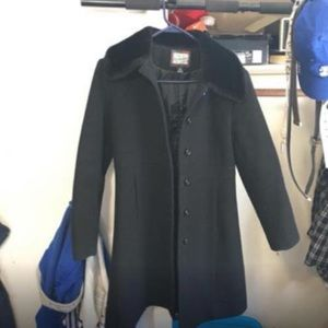 Tailored Rothschild pea coat